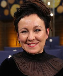 Olga Tokarczuk oddała replikę medalu noblowskiego na WOŚP Jerzego Owsiaka