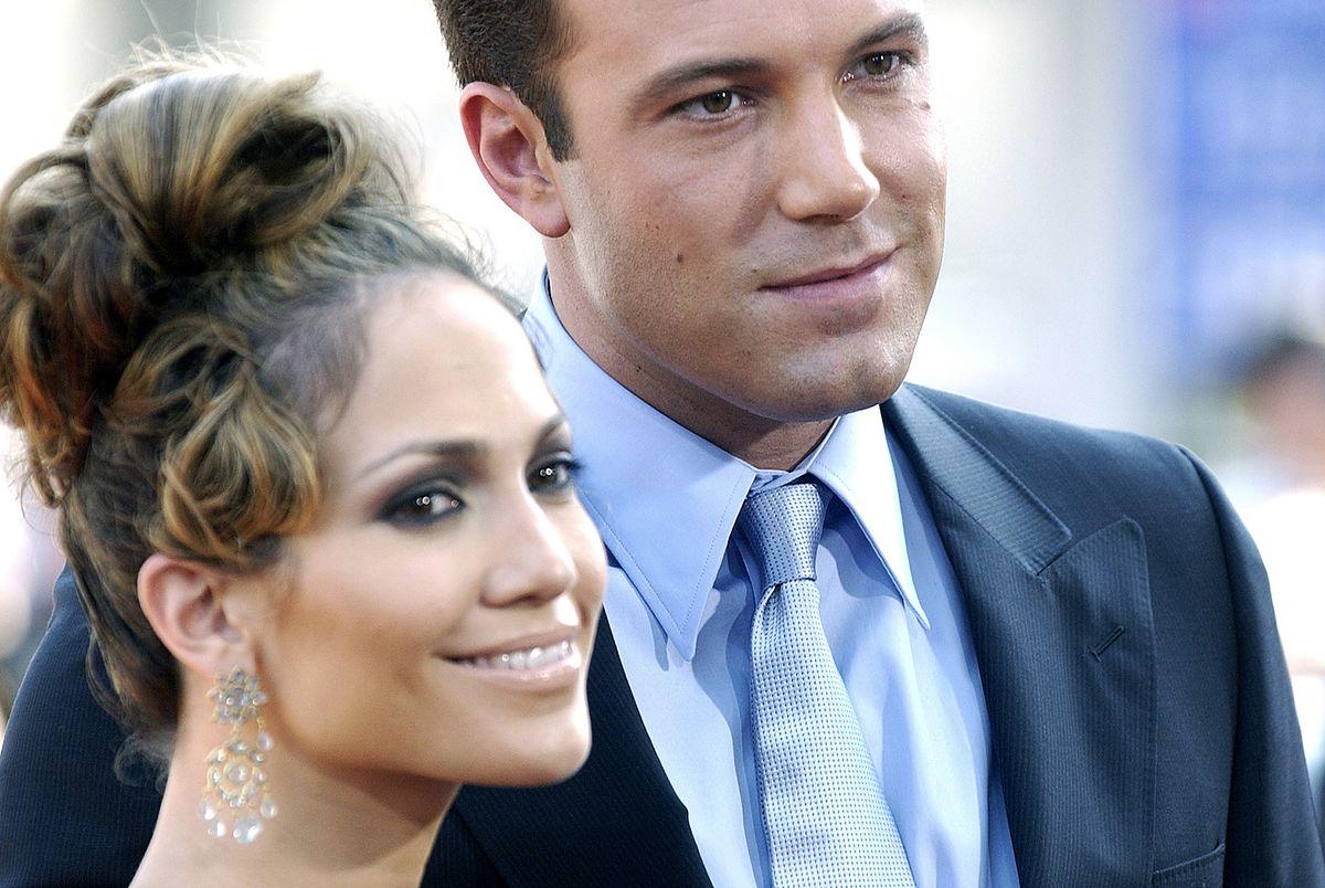 Jennifer Lopez i Ben Affleck w 2003 roku
