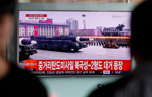 Pokaz siły w Korei Płn. Zakończyła się wielka parada wojskowa