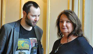 Anna Dymna ma jedynego syna. Aktorka namawia Michała na ślub