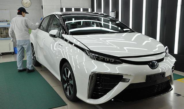 W 10 dni 600 zamówień na Toyotę Mirai