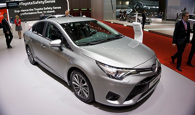 Nowa Toyota Avensis debiutuje w Genewie
