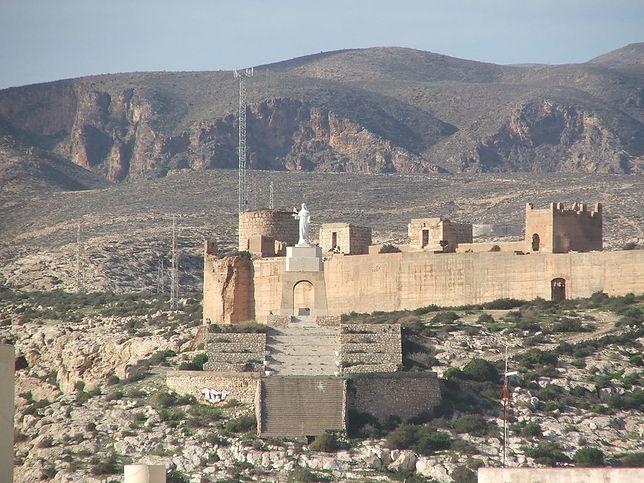 Widok na Cerro San Cristobal Almeria