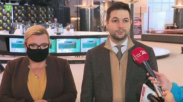 Beata Kempa i Patryk Jaki - polscy przedstawiciele w PE. Jaki mówił m.in. o aborcji na życzenie do 9 m-ca ciąży