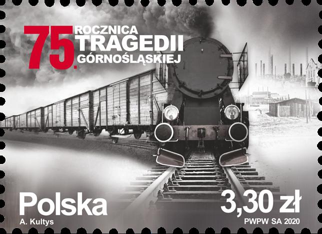 Poczta Polska wydała okolicznościowy znaczek upamiętniający Tragedię Górnośląską.