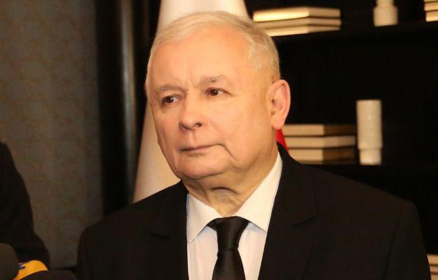 Jarosław Kaczyński na Downing Street 10