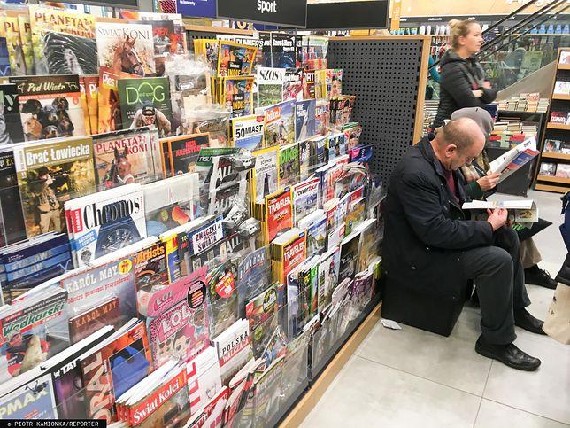 Sprzedaż prasy spada od lat