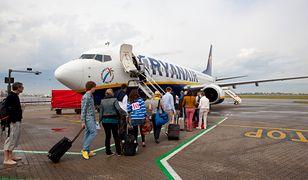 130 tys. klientów Ryanaira otrzymało list z propozycją przyjęcia vouchera.