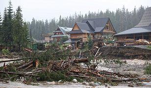 Niebezpieczna sytuacja na południu Polski. Ponad 1600 interwencji straży pożarnej