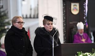 Żona i córka Pawła Adamowicza w Bazylice Mariackiej w Gdańsku