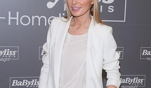 Agnieszka Cegielska cała na biało