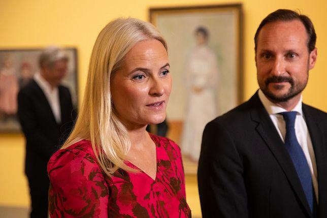 Mette-Marit z mężem Haakonem Magnusem