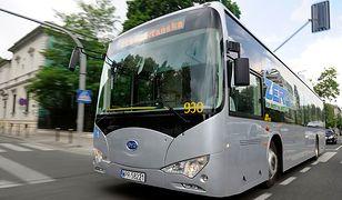 Rekord zasięgu elektrycznego autobusu z Chin