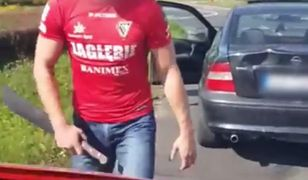 Agresywny kierowca w Sosnowcu.
