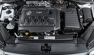 Volkswagen z sinikiem TDI