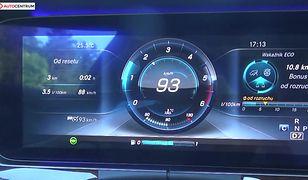 Mercedes-Benz Klasa E 220d 2.0 194 KM (AT) - pomiar zużycia paliwa