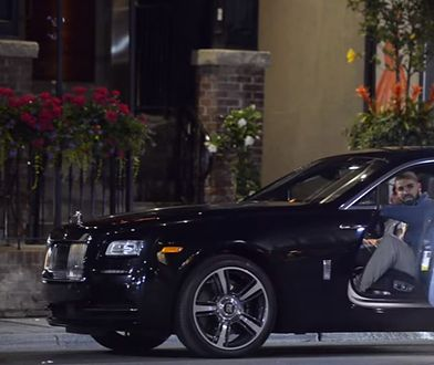 Drake w Rolls-Roycie
