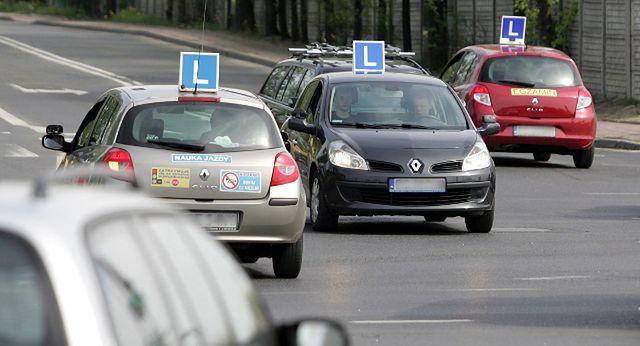 Hamowanie nauki jazdy