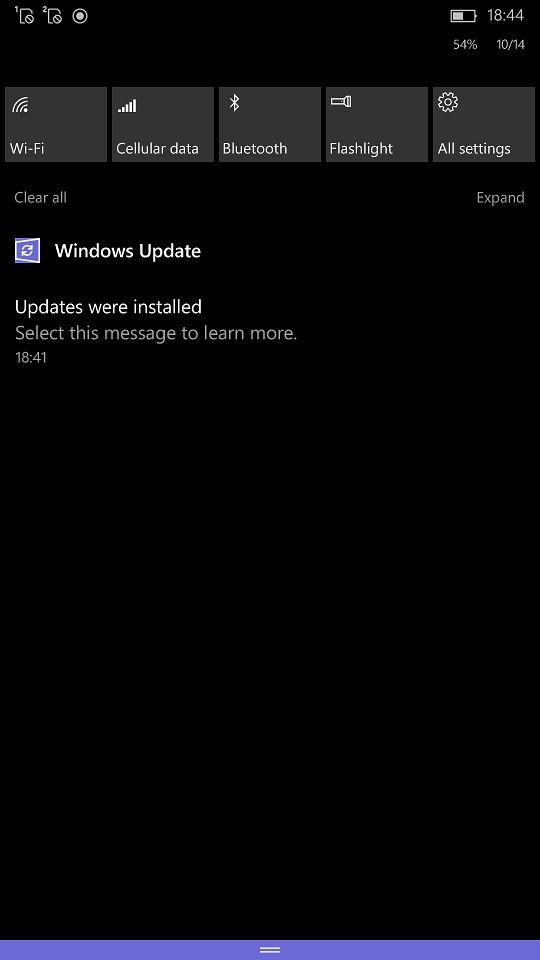 Wzorem desktopu odddano w nasze ręce nową ikonkę Windows Update