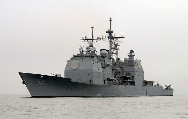 USS Antietam już w Cieśninie Tajwańskiej