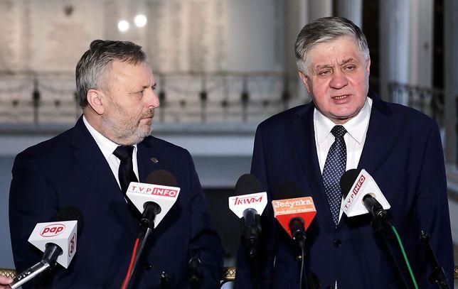 Wiktor Szmulewicz i Krzysztof Jurgiel