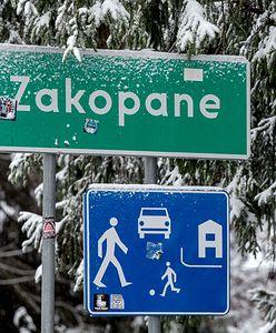 Zakopane zasypane. Pierwszy śnieg u podnóża Tatr