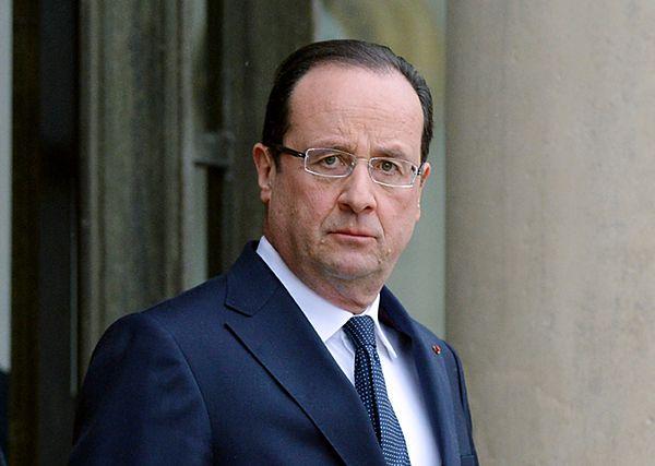 Francois Hollande zaniepokojony perspektywą jednostronnej akcji Rosji na Ukrainie