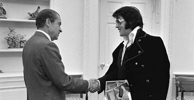 Spotkanie Richarda Nixona i Elvisa Presleya, 21 grudnia 1970 r.
