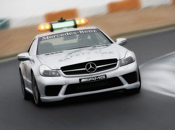 Mercedes SL 63 AMG Safety Car