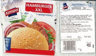 GIS ostrzega, w tych hamburgerach wykryto groźną bakterię
