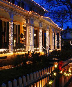 Dekoracja domu na Boże Narodzenie – na zewnątrz