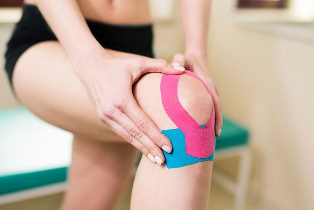 Taping jest nowoczesną metodą profilaktyki i zwalczania kontuzji.