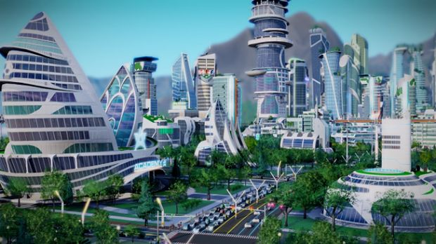 Pierwszy duży dodatek do SimCity przeniesie graczy 50 lat w przyszłość