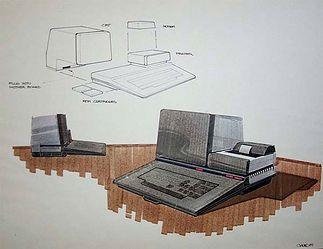 Warto zwrócić uwagę na koncepcję połączenia urządzeń poprzez specjalne złącza. Bez przewodów. Rys. Regan Chang.