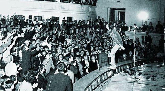 1967 - kultowy koncert The Rolling Stones w Warszawie