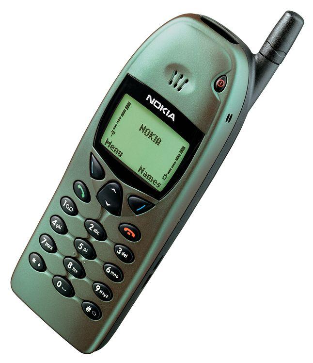 Nokia 6110 była moim pierwszym, prawie biznesowym telefonem.