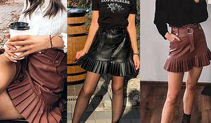 Skórzana spódnica to najlepsza inwestycja tej jesieni