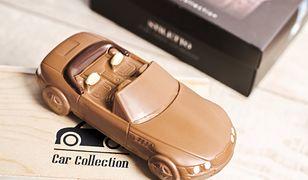 Efektowne i pyszne - auto z czekolady