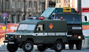 Na miejsce zdarzenia został ściągnięty patrol saperski