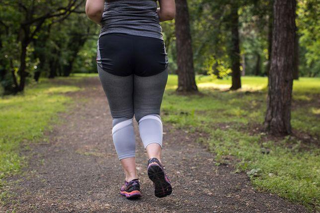 Próbowała schudnąć biegając