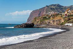 Madera. Zawaliła się skarpa przy popularnej plaży