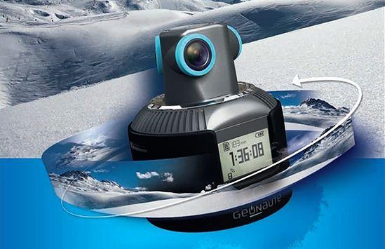 Genaute – kamera sportowa rejestrująca 360-stopniowy obraz