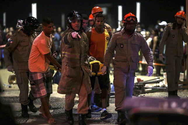 Copacabana: samochód wjechał w ludzi. Nie żyje 8-miesięczne dziecko