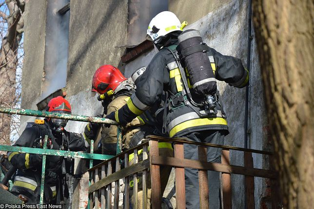 Trzy osoby zginęły w pożarze w Malborku