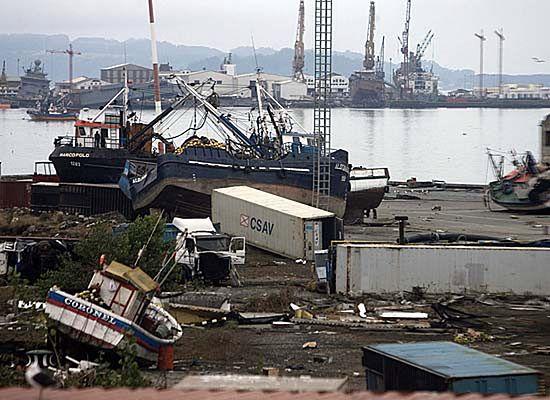 Trzęsienie ziemi w Chile spowodowało skrócenie dni