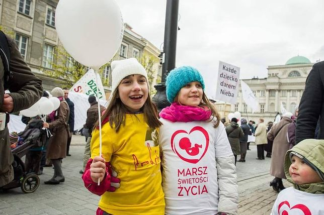 W Warszawie Marsz Świętości Życia. Przyjdzie kilka tysięcy osób