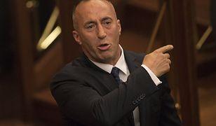 Premier Kosowa Ramush Haradinaj.
