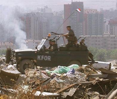 Siły NATO w Prisztinie, stolicy Kosowa.
