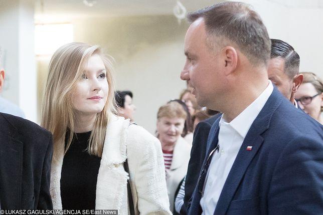 Prezydent Andrzej Duda jest dumny z córki