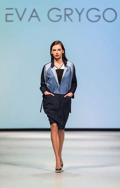 Eva Grygo na Mercedes-Benz Fashion Weekend Warsaw